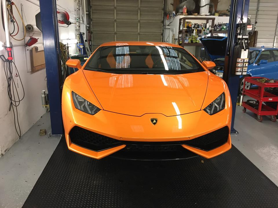 Lamborghini Huracan – Time Maintenance