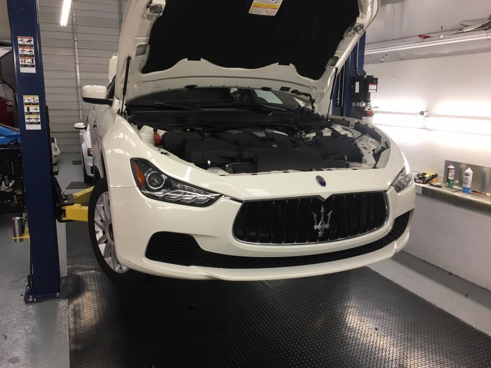 Maserati – First Service