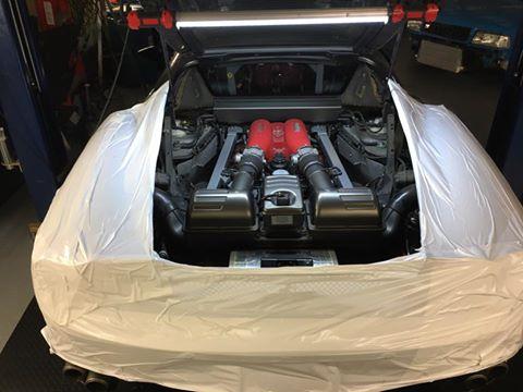 Ferrari F430 – F1 clutch replacement