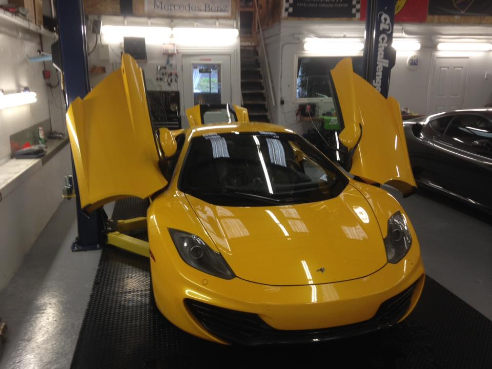 McLaren MP4 – Regular Service