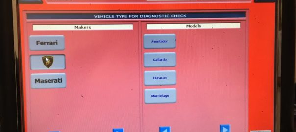Lamborgini Diagnostic Tool